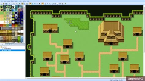 house map maker rpg maker vx ace forest mapping tutorial