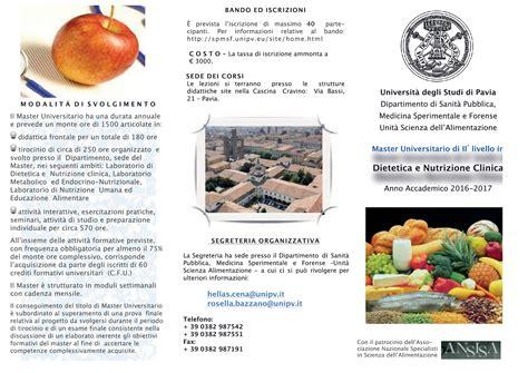 187 master scienze dell alimentazione e della nutrizione umana