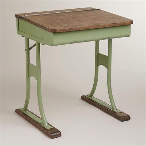 School House Desk by Mint Schoolhouse Desk World Market