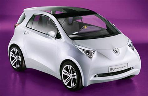 Toyota Small Toyota Iq Less Is More For Small Car Treehugger