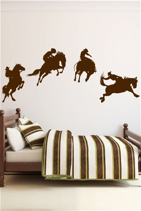cowboy wall stickers cowboy wall decals walltat