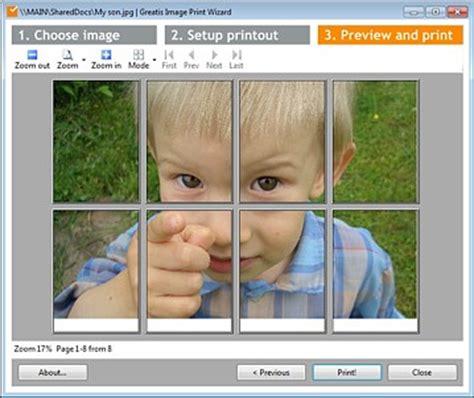 imprimir imagenes en varias hojas software per creare e stare poster su pi 249 fogli a4