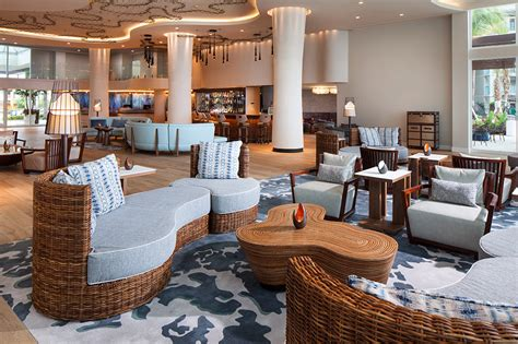 hotel lobby seating escape to westin grand cayman seven mile resort