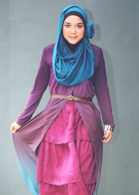 Maxi Dress Rosya Cardigan Baju Muslim Busana Mus Murah cara pakai jilbab busana trendy dengan cardigan maxi
