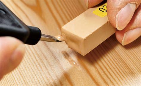 Macken Im Holz Ausbessern by Laminat Macke Reparieren Parkett Laminat Dielen