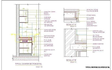 Restaurant Floor Plan Software Stone Counter Top Detail Plan N Design