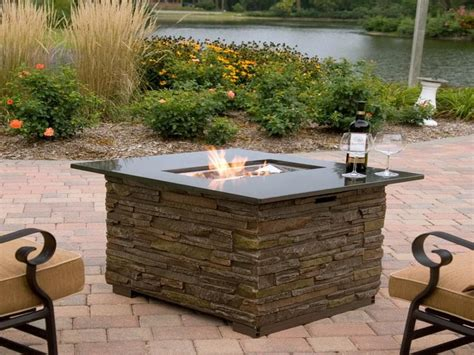 outdoor propane firepits outdoor how to create outdoor gas pits table how to