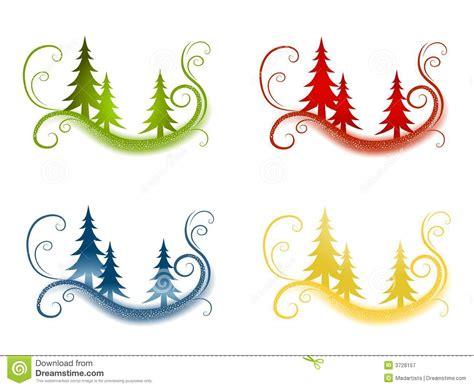 silueta de árbol de navidad fondos decorativos 225 rbol de navidad stock de ilustraci 243 n ilustraci 243 n de 250 nico creativo