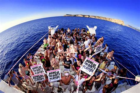 essential ibiza boat party all aboard pukka up