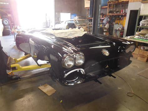 1958 corvette restoration 1958 corvette restoration in progress gm sports