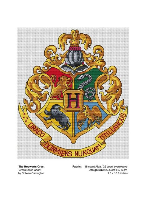 Hogwarts Acceptance Letter Cross Stitch Best 25 Hogwarts Crest Ideas On Harry Potter Crest Hogwarts Houses Crests And Hogwarts