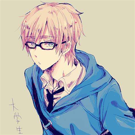 anime glasses anime boy with glasses tumblr