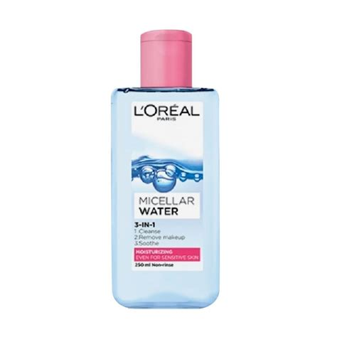 Produk L Oreal jual l oreal micellar water moisturizing pink 250 ml