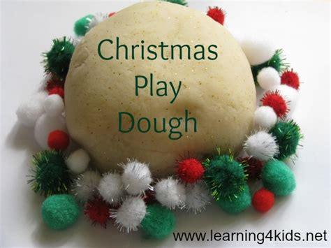 christmas dough recipe play dough learning 4
