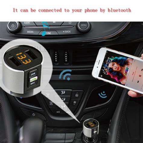 Hy82s Car Fm Transmitter Bluetooth Mp3 Player Car Bluet Diskon c26s wireless car bluetooth free player fm