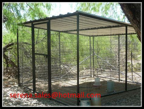 Kandang Kucing Ram Kawat cina pembuatan lipat taman luar ruangan logam burung