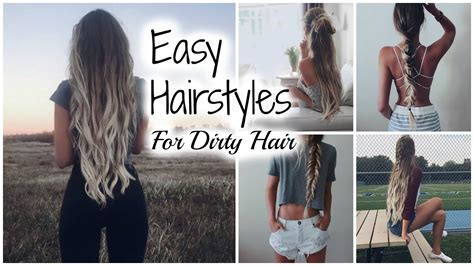 Hairstyles For Second Day Hair by Easy No Heat Hairstyles Second Day Hair