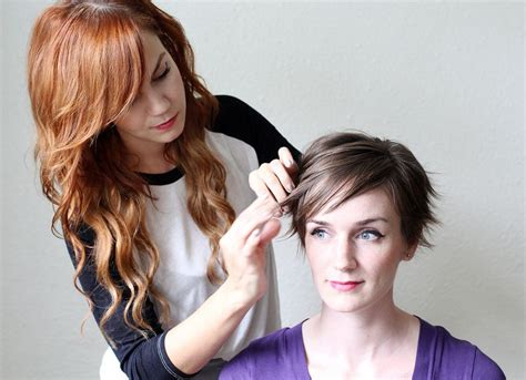 How To Use Wax To Style Hair by 3 Ways To Style A Pixie Cut A Beautiful Mess