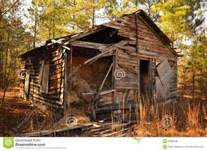 Barn For Sale Georgia Old Cabin In The Woods Stock Photo Image 23066180
