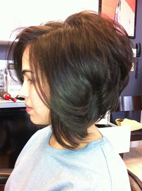 stacked or layered hair 20 best stacked layered bob bob hairstyles 2015 short