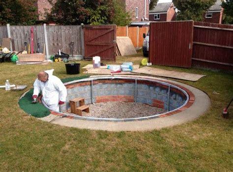 inground pool diy pools backyards pools swimming and swimming pools