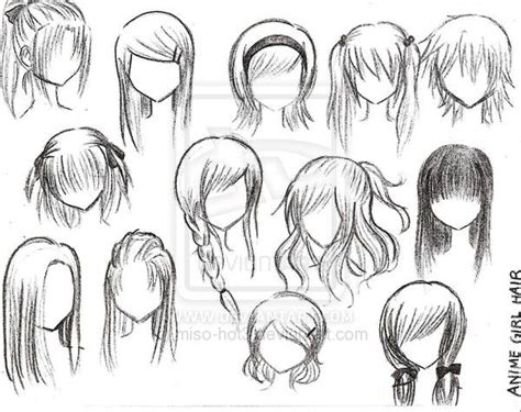 girl hairstyles deviantart anime girl hairstyles by miso baby on deviantart anime
