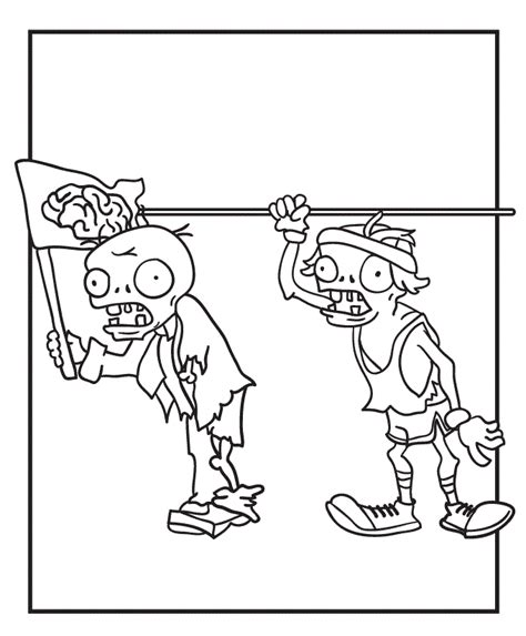 zombie coloring pages pdf plants vs zombies coloring pages az coloring pages