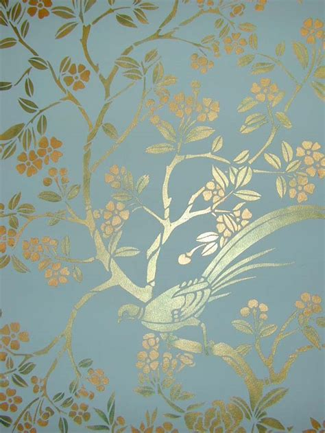 chinoiserie wallpaper uk blue chinoiserie stencil library blue jpg