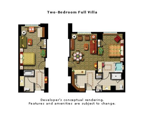 marriott grand chateau 2 bedroom villa floor plan marriott grand chateau annual platinum 2br 2ba timeshare
