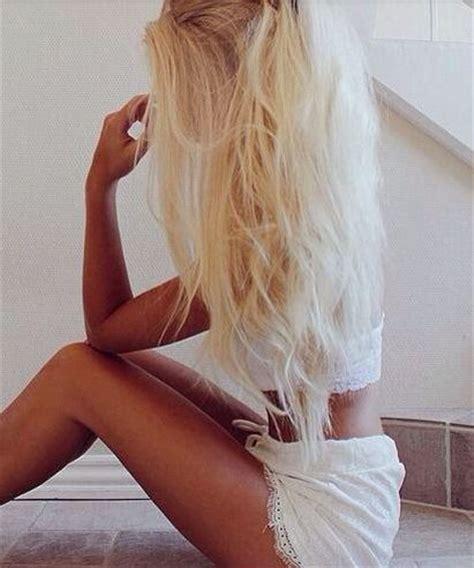 bleach blonde hair on tan skin bleach blonde hair ɥɐıɹsʇʎlǝs pinterest bleach