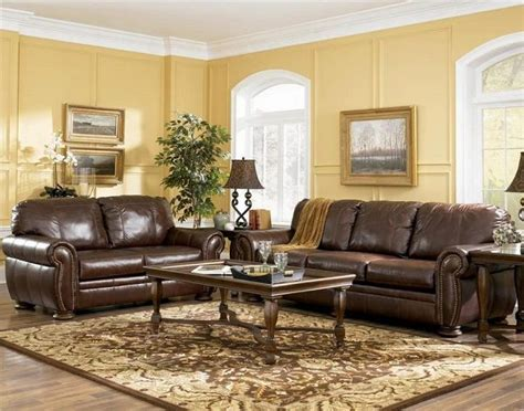 Living Room With Brown Leather Sofa Painting Color Ideas Living Room Colors Ideas Paint Living Room Colors With Brown Furniture