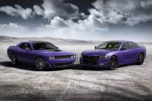 dodge challenger and charger go plum by car magazine