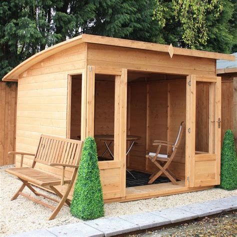 12mm Shiplap Tongue And Groove Avon 8 X 8 Loxley Summer House Summer Houses