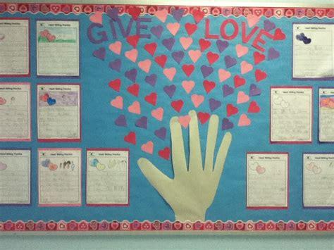 february themes in kindergarten valentines kindergarten bulletin board february