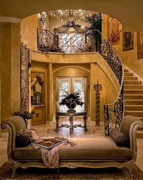 posh home decor 40 luxurious grand foyers for your elegant home