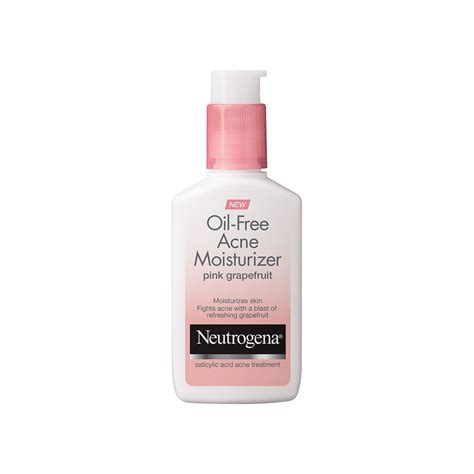 light moisturizer for sensitive skin neutrogena oil free acne moisturizer pink grapefruit