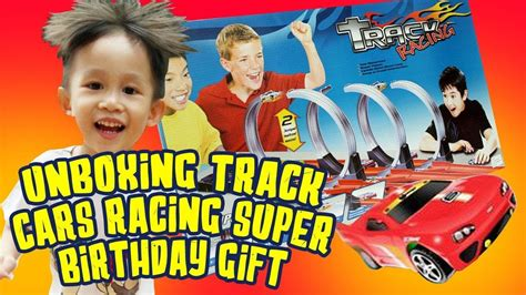 toys review track car racing mainan mobil nursery rhymes vlog oliver
