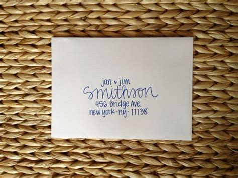 25  best ideas about Handwritten Wedding Invitations on
