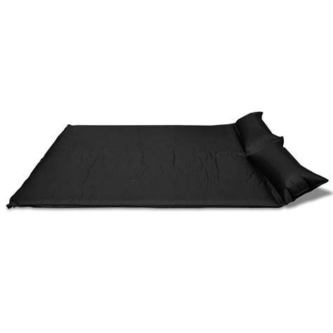 materasso autogonfiabile materasso autogonfiabile doppio 190 x 130 x 5 cm nero
