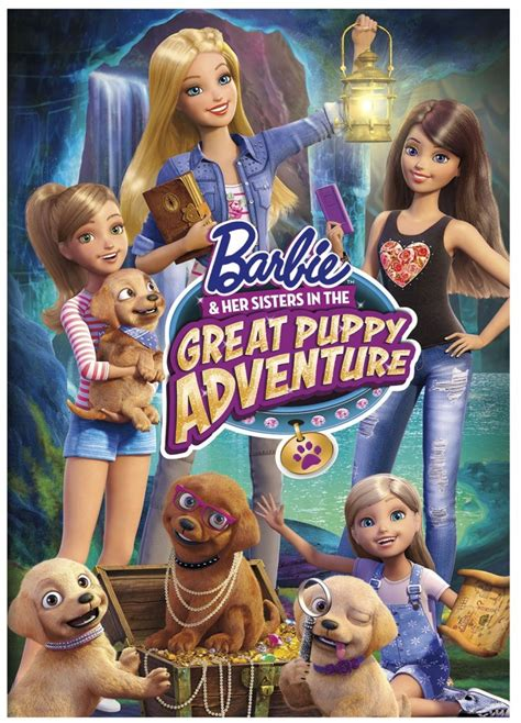 barbie film order pre order now barbie her sisters in the great puppy