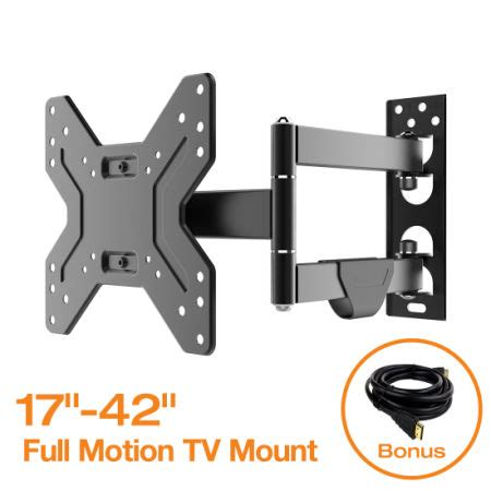 Bracket Tv 17 42 shop for fleximounts motion articulating tv wall