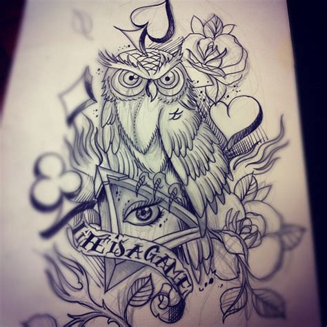 illuminati owl tattoo design a sketch for jake from the uk tattoo lifeisagame owl