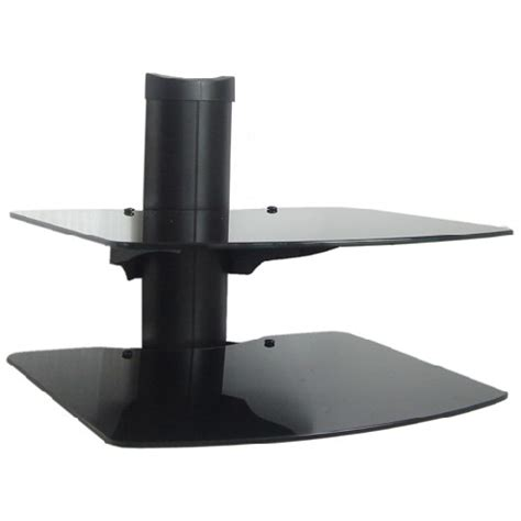 Wall Mount Shelf For Cable Box by New Dvd Player Tv Av Wall Mount 3 Shelf Stand Cable Box Ebay