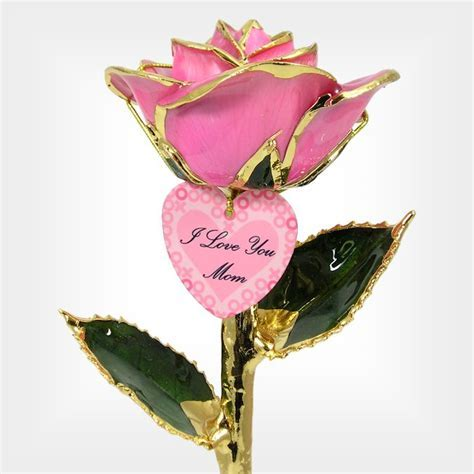 Personalized Mother's Day Gift: Hugs and Kisses Rose: Love