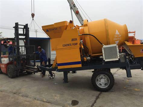 concrete mixer pump for mixing transferring liquid