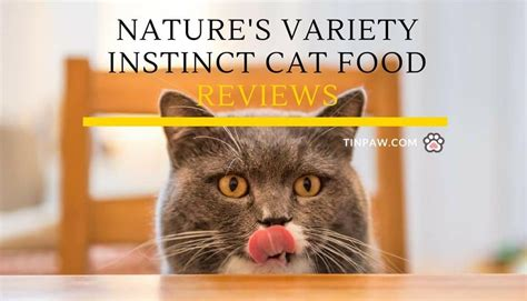 nature s variety food nature s variety instinct cat food reviews tinpaw