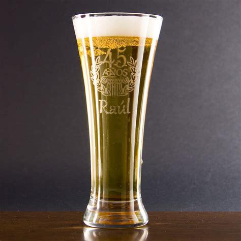 imagenes de cumpleaños cerveza copa de cerveza grabada para cumplea 241 os