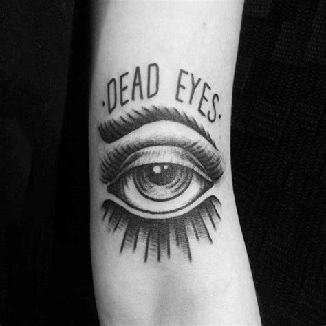tattoo eyes black top 125 eye tattoos for the year
