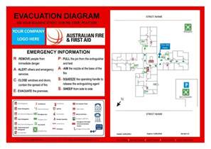 free evacuation plan template all about emergency map