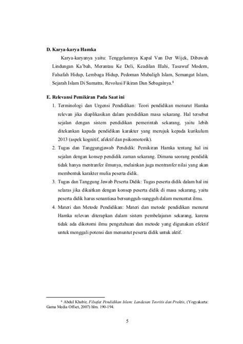 Biodata Hamka Tokoh Islam | biografi hamka